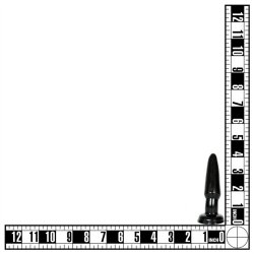 "Basix 3.5"" Beginner's Butt Plug - Black 10 Product Image"