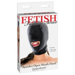 Fetish Fantasy Spandex Open Mouth Hood Product Image