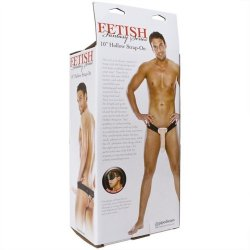"Fetish Fantasy 10"" Hollow Strap-On - Flesh 12 Product Image"