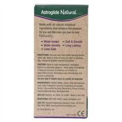 Astroglide Natural - 2.5 oz. 10 Product Image