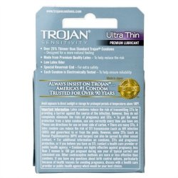 Trojan Ultra Thin Lubricated - 3 Pack 2 Product Image
