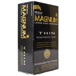 Trojan Magnum Thin Lubricated - 12 Pack 2 Product Image