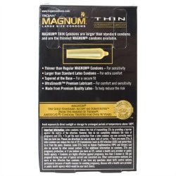 Trojan Magnum Thin Lubricated - 12 Pack 3 Product Image