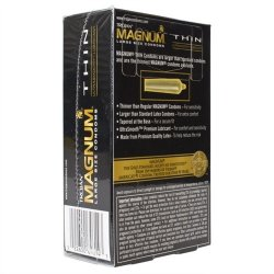 Trojan Magnum Thin Lubricated - 12 Pack 4 Product Image