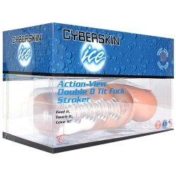 Cyberskin Ice Action View Tit Fuck Stroker 9 Product Image