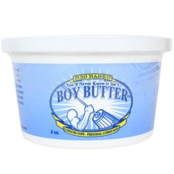 Boy Butter H2O - 8 oz. Tub 1 Product Image