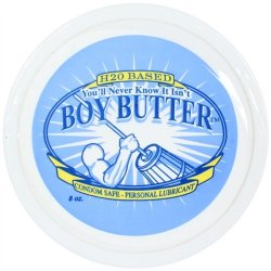 Boy Butter H2O - 8 oz. Tub 5 Product Image