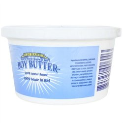 Boy Butter H2O - 8 oz. Tub 6 Product Image