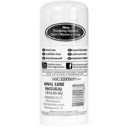 Anal Lube - Natural - Airless Pump 3.4oz. 2 Product Image