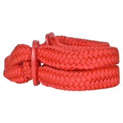 Fetish Fantasy Silk Rope Love Cuffs - Red 5 Product Image