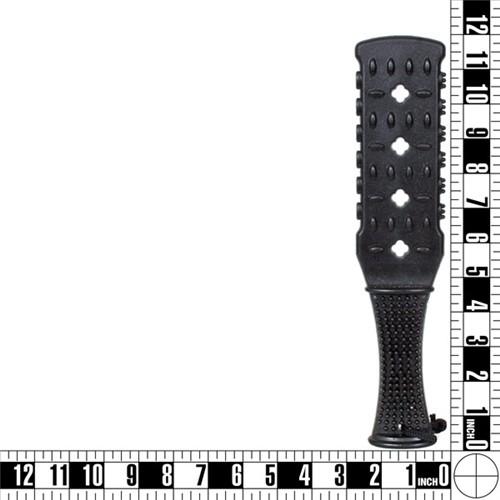Fetish Fantasy Rubber Paddle - Black 7 Product Image