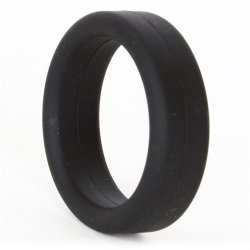Super Soft Cock & Ball Ring - Black 4 Product Image
