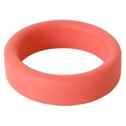 Super Soft Cock & Ball Ring - Red 2 Product Image