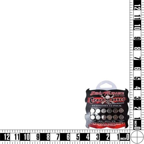 Crossbones - Alkaline LR44  Batteries - 12 pack 4 Product Image