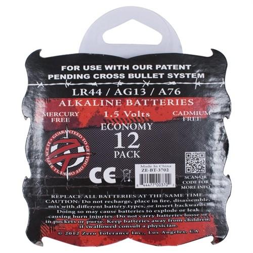 Crossbones - Alkaline LR44  Batteries - 12 pack 5 Product Image