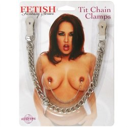 Fetish Fantasy Tit Chain Clamps 4 Product Image