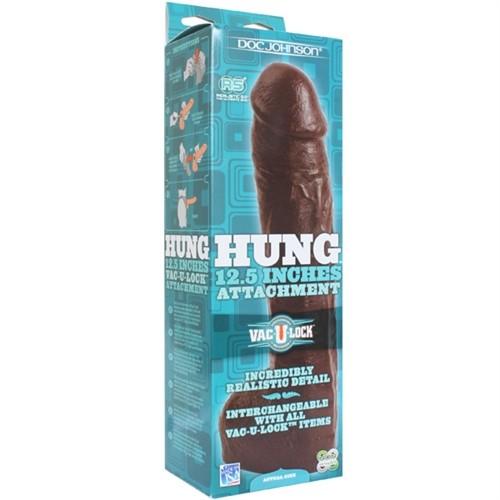 "Vac-U-Lock Hung 12.5"" - Black 10 Product Image"