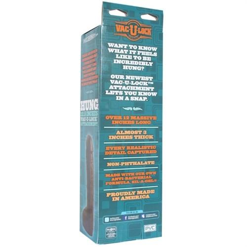 "Vac-U-Lock Hung 12.5"" - Black 12 Product Image"