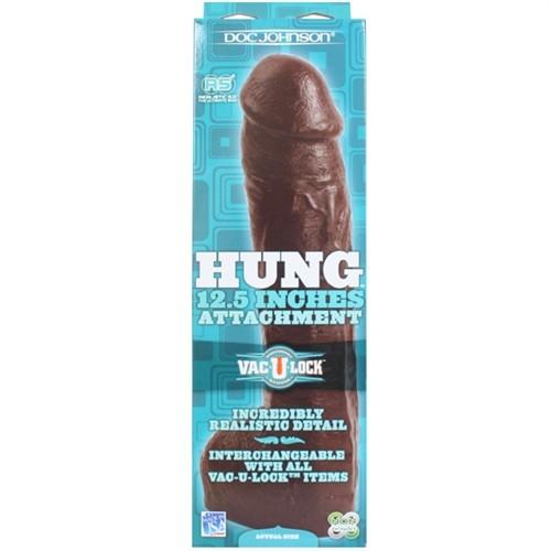 "Vac-U-Lock Hung 12.5"" - Black 9 Product Image"