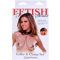 Fetish Fantasy Collar & Clamp Set 9 Product Image