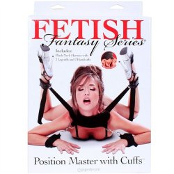 Fetish Fantasy Position Master with Cuffs Set 10 Product Image