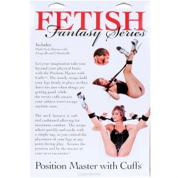 Fetish Fantasy Position Master with Cuffs Set 12 Product Image