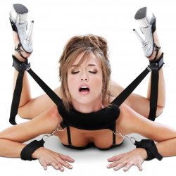 Fetish Fantasy Position Master with Cuffs Set 4 Product Image