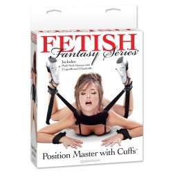 Fetish Fantasy Position Master with Cuffs Set 8 Product Image