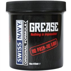 Swiss Navy: Grease - 16 oz. 1 Product Image