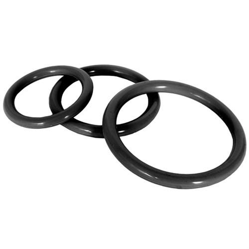 Fetish Fantasy Elite Silicone Cockcage & Ring Set - Black 8 Product Image