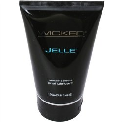 Wicked Anal Jelle - 4 oz.  2 Product Image