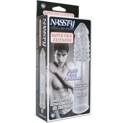 Nassty Super Dick Extender - Clear 10 Product Image