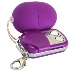 Shots Toys: Small Vibrating Egg - Purple 2 Product Image