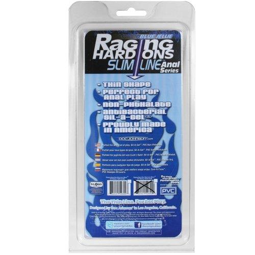 """Raging Hard-Ons Slimline Cobalt Blue Jellie Ballsy 4.5"""" 12 Product Image"""