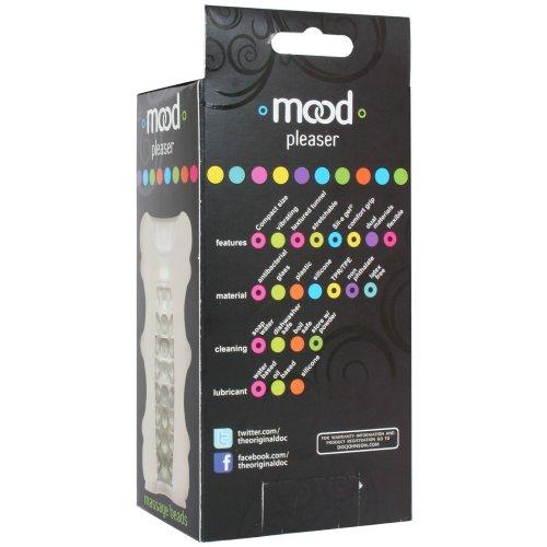 Mood Pleaser: Massage Beads Masturbator - Frost 11 Product Image