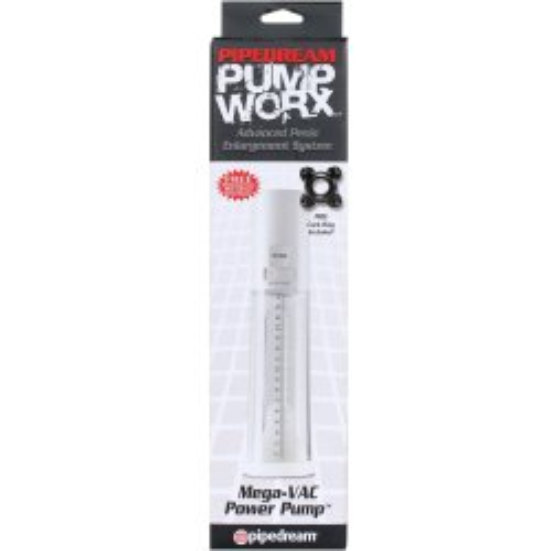 Pump Worx Mega Vac Power Pump - Clear 9 Product Image