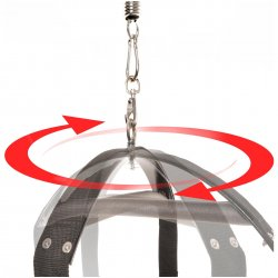 Fetish Fantasy Spinning Fantasy Swing - Black 4 Product Image