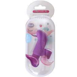 Play with Me: Waterproof Finger Vibe - Lavender 12 Product Image