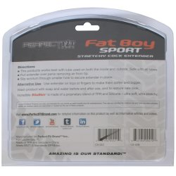 "Perfect Fit: Fat Boy Sport Extender - 6.5"" Black 10 Product Image"