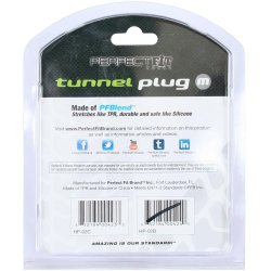 Perfect Fit: Tunnel Plug Medium - Ice Clear 9 Product Image