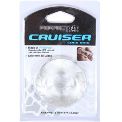 Perfect Fit: Cruiser Cock Ring - Ice Clear 7 Product Image