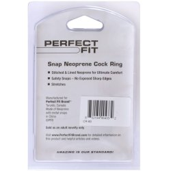 Perfect Fit: Snap Neoprene Cock Ring 10 Product Image