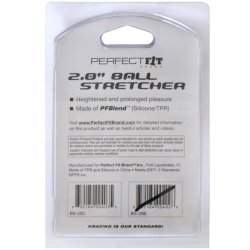 "Perfect Fit: 2"" Ball Stretcher - Ice Clear 9 Product Image"