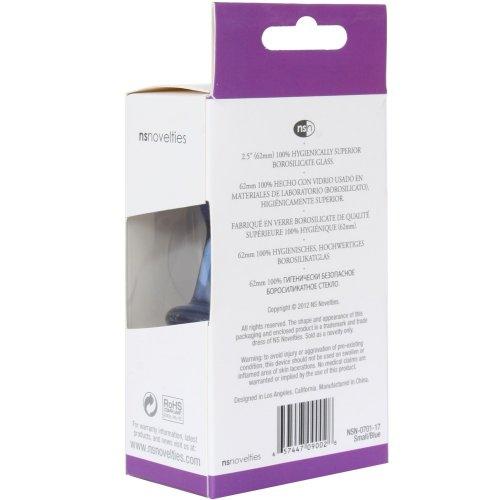 Crystal Premium Glass - Small Plug - Blue 11 Product Image