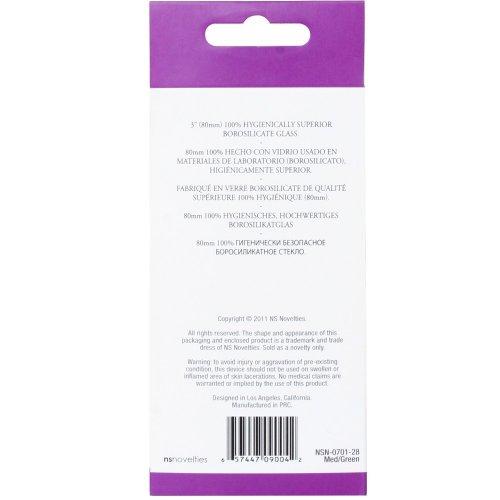 Crystal Premium Glass - Medium Plug - Green 10 Product Image