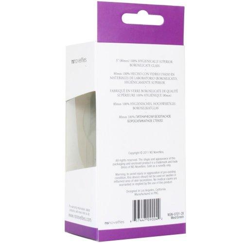 Crystal Premium Glass - Medium Plug - Green 11 Product Image