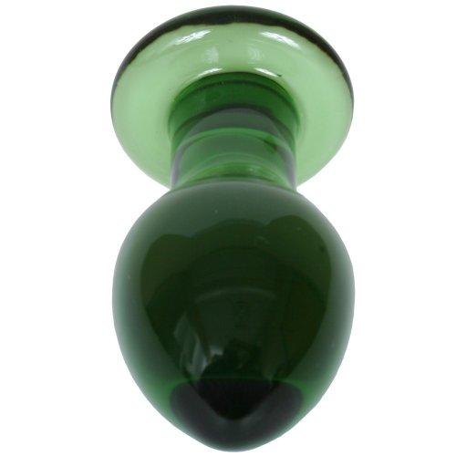 Crystal Premium Glass - Medium Plug - Green 3 Product Image