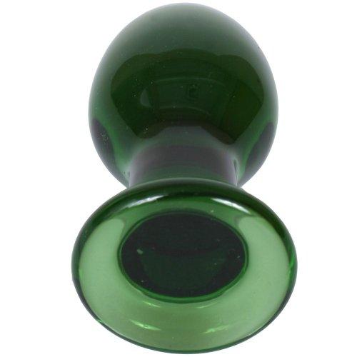 Crystal Premium Glass - Medium Plug - Green 5 Product Image