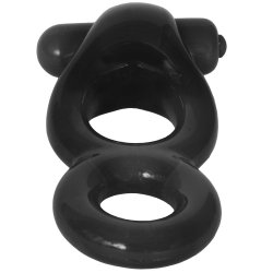 Renegade Vibrating Ring - Black 6 Product Image