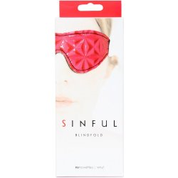 Sinful Blindfold - Pink 7 Product Image